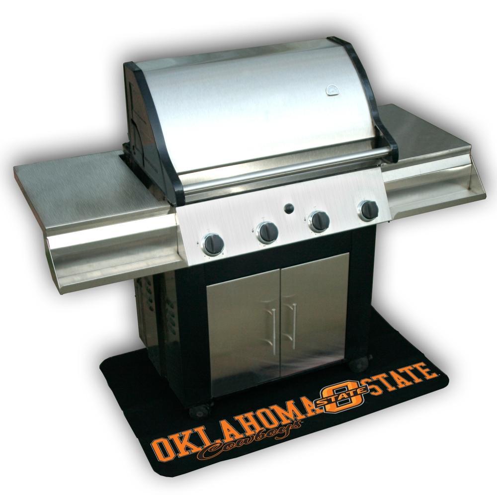 Oklahoma State Cowboys Vinyl Grill Mat