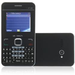 dr. Tech IP88 Black Dual SIM Unlocked Cell Phone with Micro 2GB Memory Card