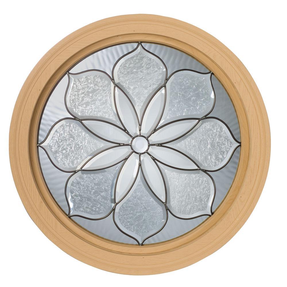Century Primed Fixed Perennial Design Round Window Free