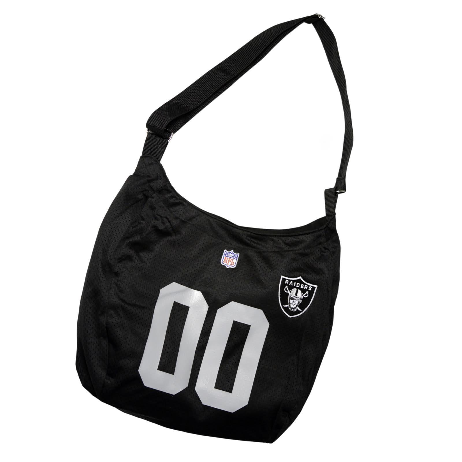 Little Earth Oakland Raiders Veteran Jersey Tote Bag