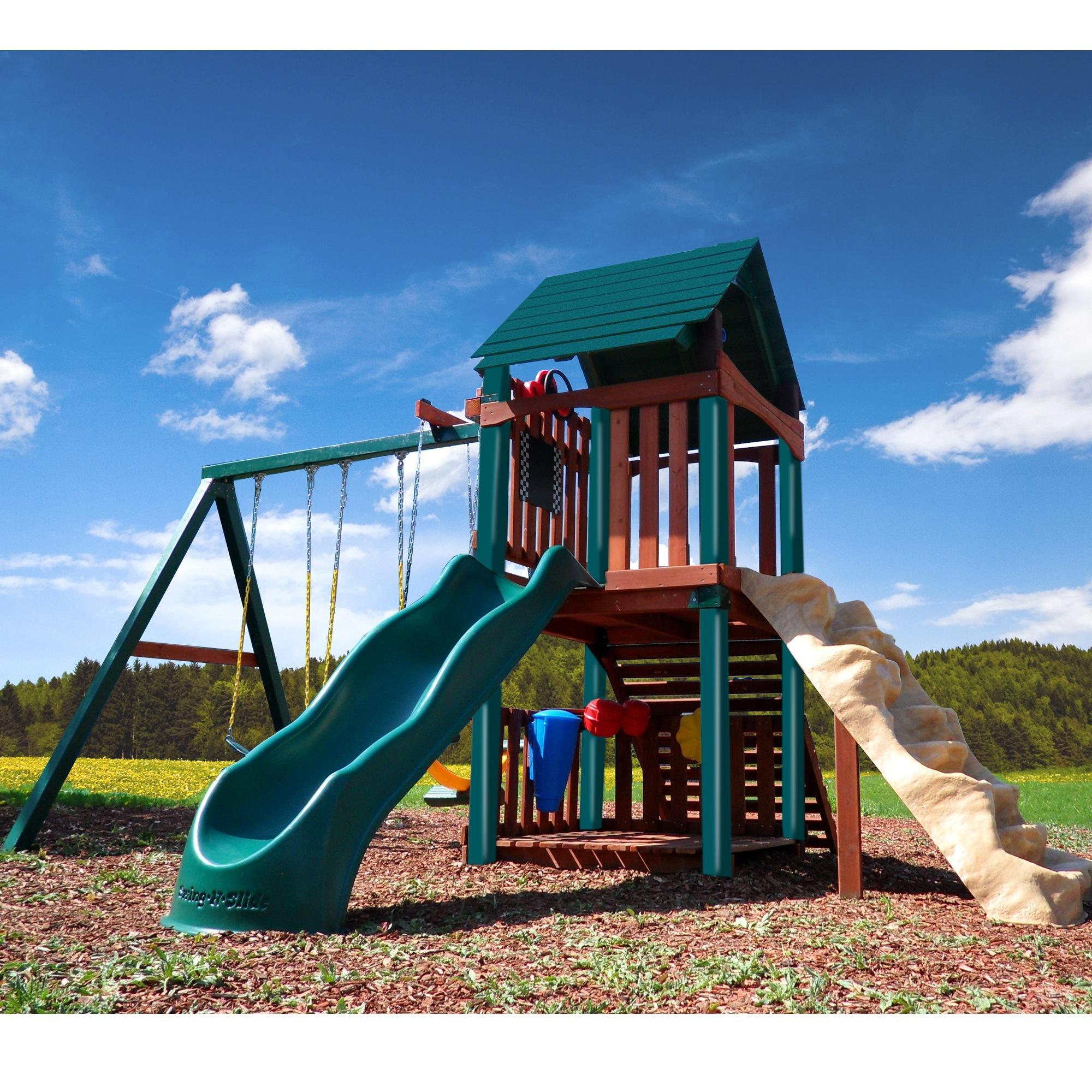 Summerville Fort Wood Complete Play Set