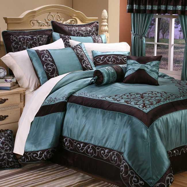 Ventura Lake Queen-size 20-piece Bed in a Bag Set