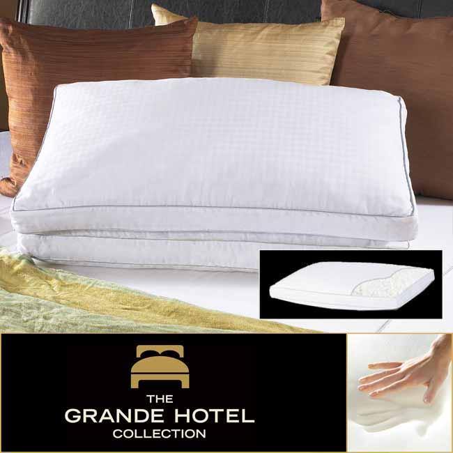 Shop Grande Hotel Collection Memory Foam Cluster Pillow