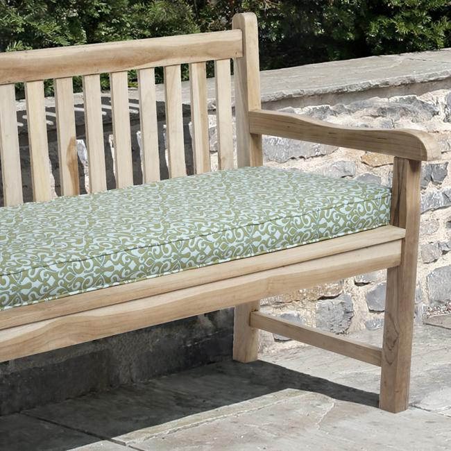 Isabella 48 inch Outdoor Verti Opal Bench Cushion Made