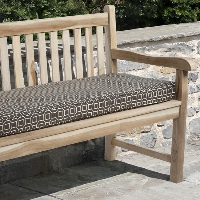 Kate 48 inch Outdoor Brown Bench Cushion Free Shipping