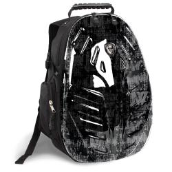 J World 'Eagle' Frost Black 18-inch PC Tablet Backpack