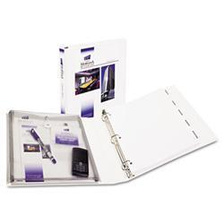 Avery Protect & Store View Binder w/EZ-Turn