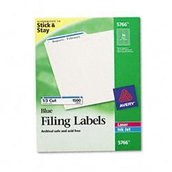 Avery Self-Adhesive Laser/Inkjet File Folder