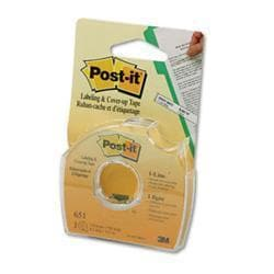 Post-it Removable Cover-Up Tape- Non-Refillable-