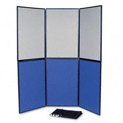 Quartet ShowIt Six-Panel Display System- Fabric-