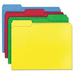 Smead WaterShed/CutLess File Folders- 1/3 Cut-