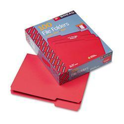 Smead File Folders- 1/3 Cut- Top Tab- Letter-