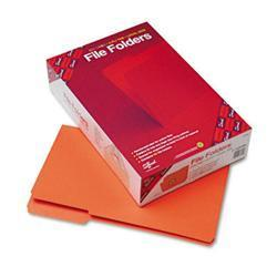 Smead File Folders- 1/3 Cut- Reinforced Top Tab-