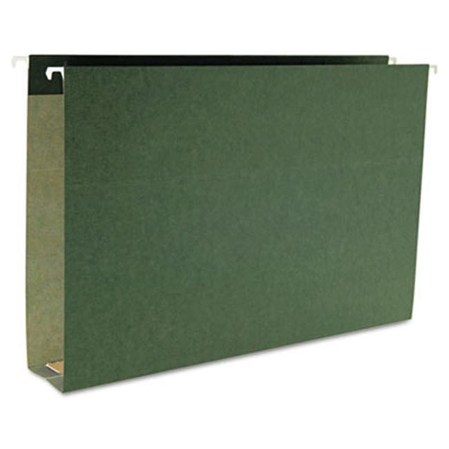 Smead 2 Cap Box Bottom Hanging File Folders-, Green