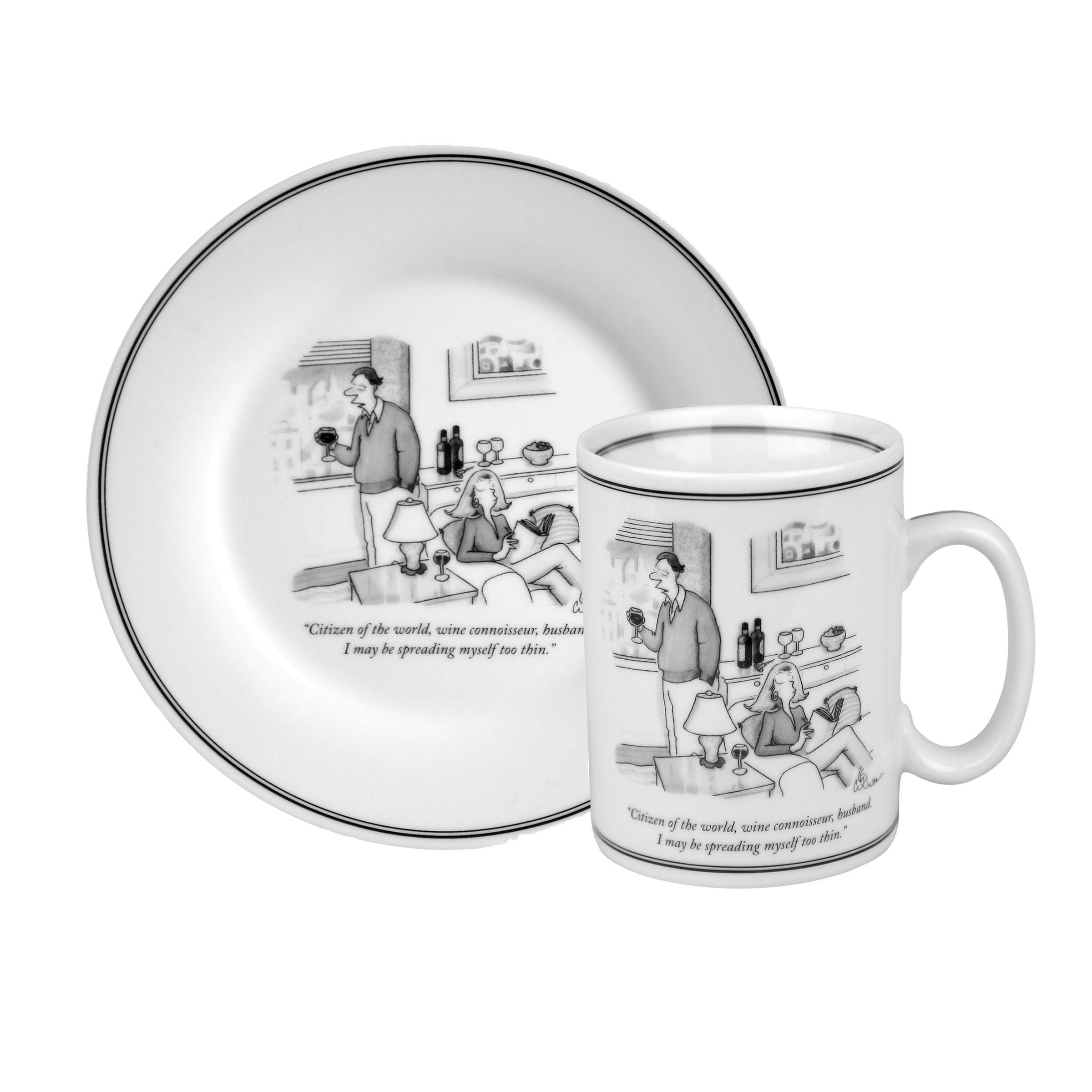 World' New Plate Collection Konitz Of And Set 'citizen Mug Yorker The uwXTOPikZ