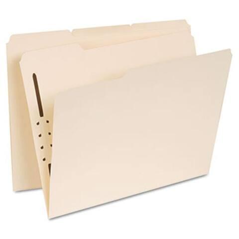 Universal Manila Folders- 1 Fastener- 1/3 Tab-