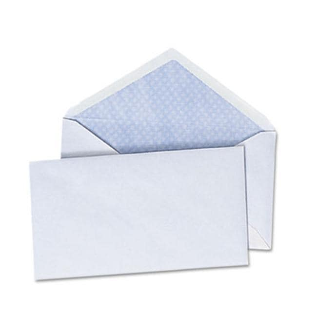 Universal Security V-Flap White Envelopes (Pack of 2)