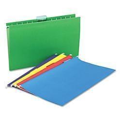 Universal Hanging File Folders- 1/5 Tab- 11