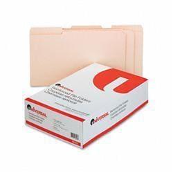 Universal File Folders- 1/3 Cut Assorted-