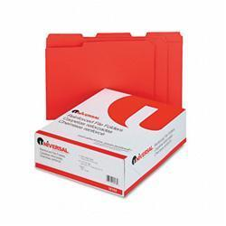 Universal Colored File Folders- 1/3 Cut