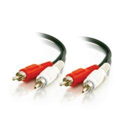 C2G 25ft Value Series RCA Stereo Audio Cable