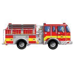 Melissa & Doug Giant Fire Truck 24-piece Floor Puzzle