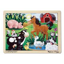 Melissa & Doug On the Farm 12-piece Jigsaw Puzzle