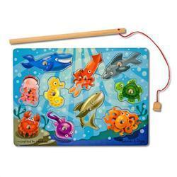 Melissa & Doug Fishing Magnetic Puzzle Game