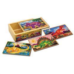 Melissa & Doug Dinosaurs Puzzles in a Box|https://ak1.ostkcdn.com/images/products/75/547/P13615621.jpg?impolicy=medium