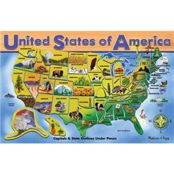 Melissa & Doug U.S.A. Map 45-piece Puzzle