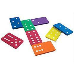 Learning Resources Jumbo Foam Dominoes Set of 28