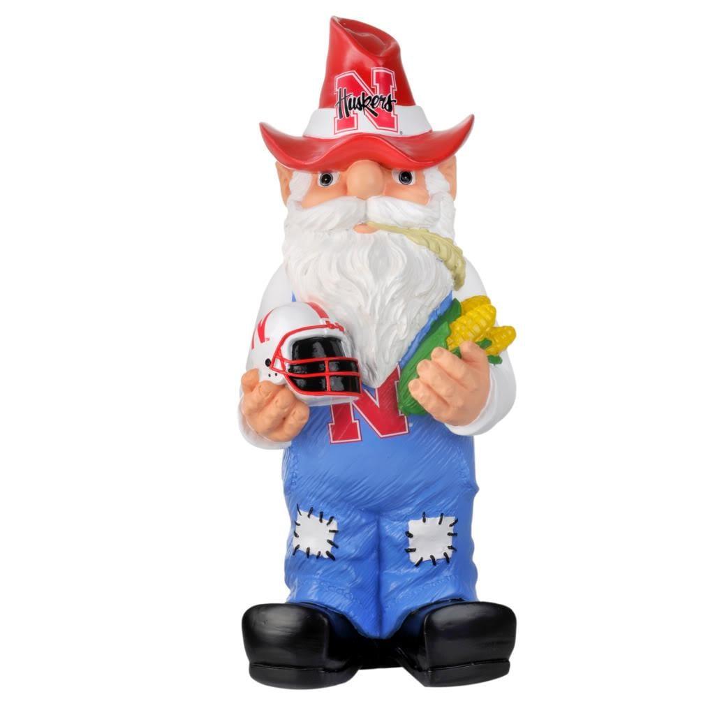 Nebraska Cornhuskers 11-inch Thematic Garden Gnome