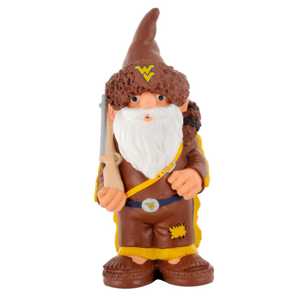 West Virginia Mountaineers 11-inch Thematic Garden Gnome