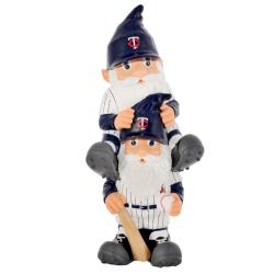 Minnesota Twins 11-inch Thematic Garden Gnome - Thumbnail 1