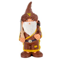 West Virginia Mountaineers 11-inch Thematic Garden Gnome - Thumbnail 1