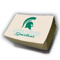 Michigan State Spartans Rectangle Patio Set Table Cover - Thumbnail 0