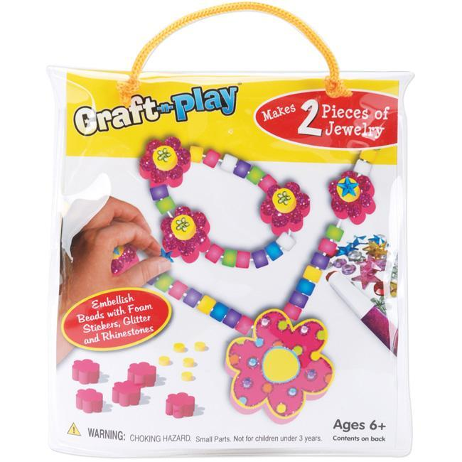 Craft 'n Play Flower Jewelry Activity Kit