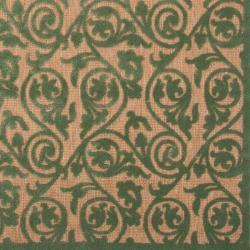 Woven Portera Indoor/Outdoor Floral Rug (5' x 7'6)