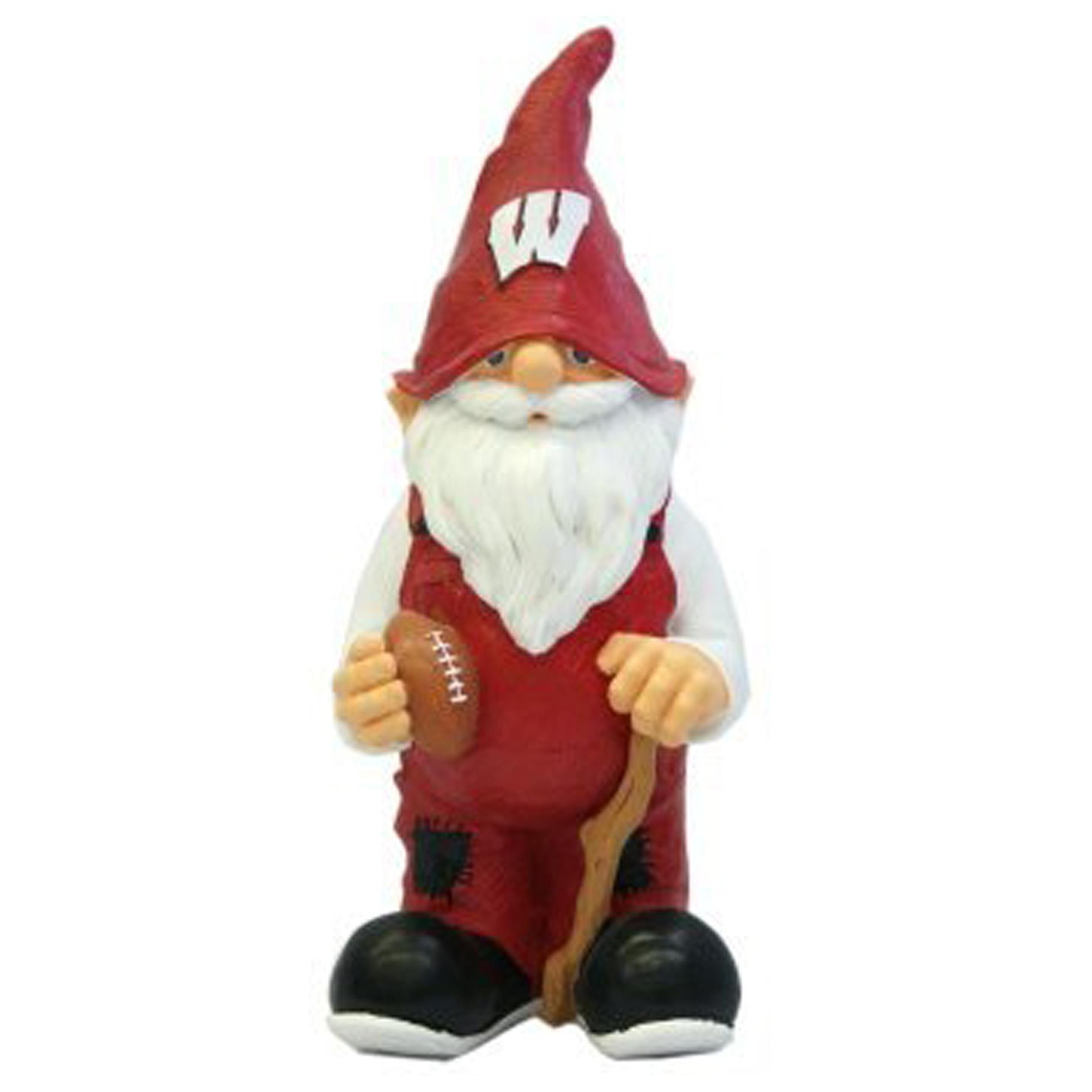 Wisconsin Badgers 11-inch Garden Gnome