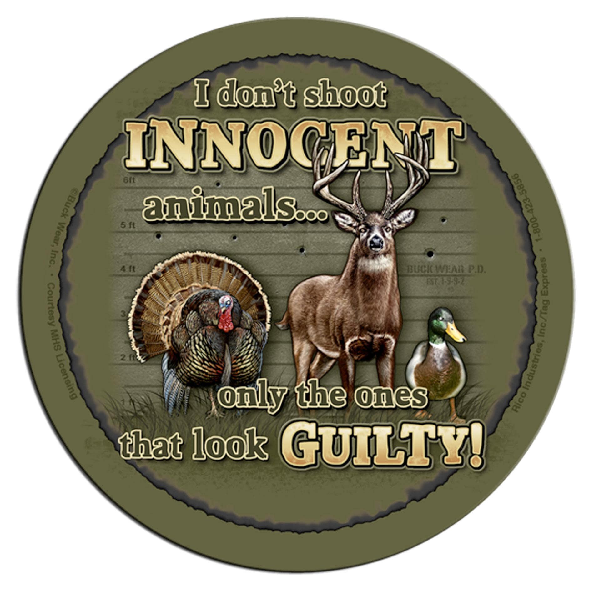 Rico Industries Innocent Animals Neoprene Coasters (Set of 4)