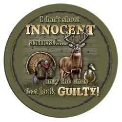 Rico Industries Innocent Animals Neoprene Coasters (Set of 4) - Thumbnail 2