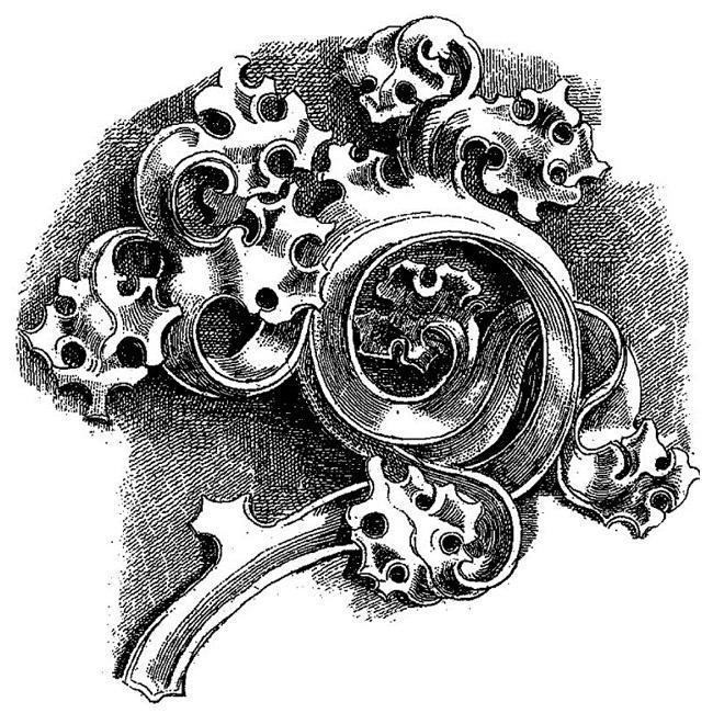 LaBlanche 'Stonework Fragment 2' Silicone Stamp