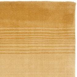 Martha Stewart by Safavieh Ombre Gradient Gold Wool Rug (9' x 12') - Thumbnail 2