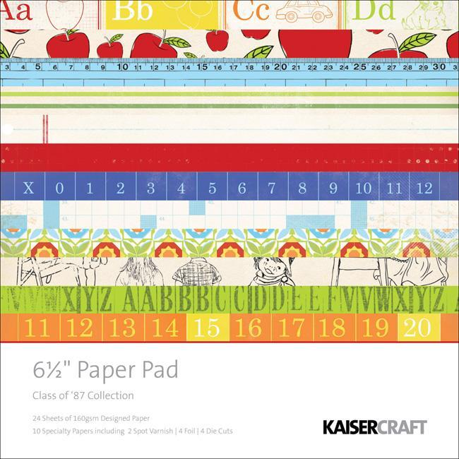 Class Of '87 Paper Pad Pack