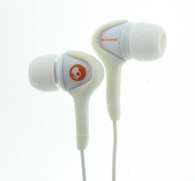 Skullcandy Smokin' Buds White Earbuds