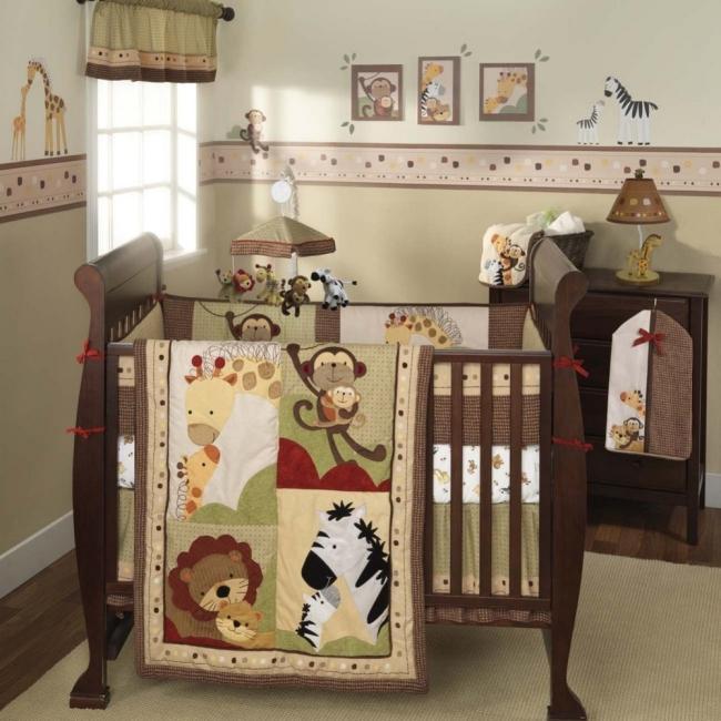 Shop Lambs Amp Ivy Baby Luv 6 Piece Crib Bedding Set Free