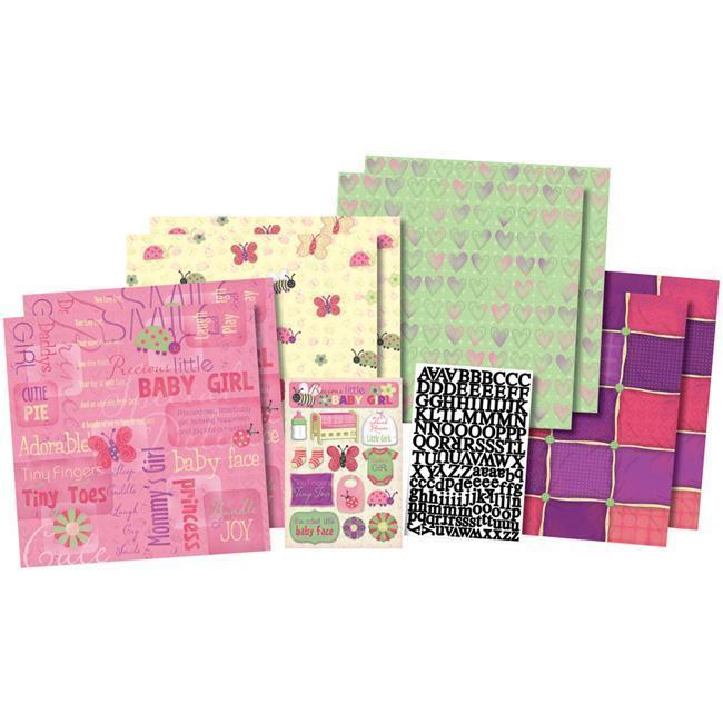 Karen Foster 'Cutie Pie' Scrapbook Kit