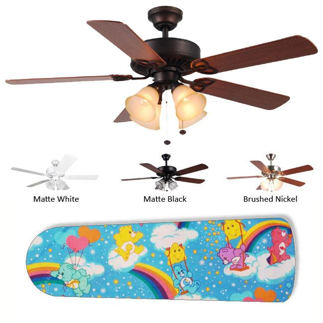 New Image Concepts 4-light Bears Blade Ceiling Fan