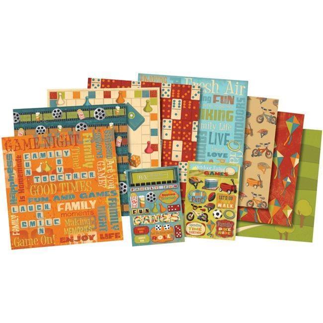 Karen Foster 'Family Fun Frenzy' Scrapbook Kit (12 x 12)