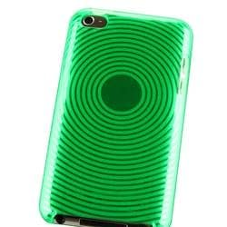 Green Circle TPU Case for Apple iPod touch 4th Gen